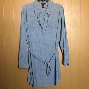 Chambray dress/tunic NWT